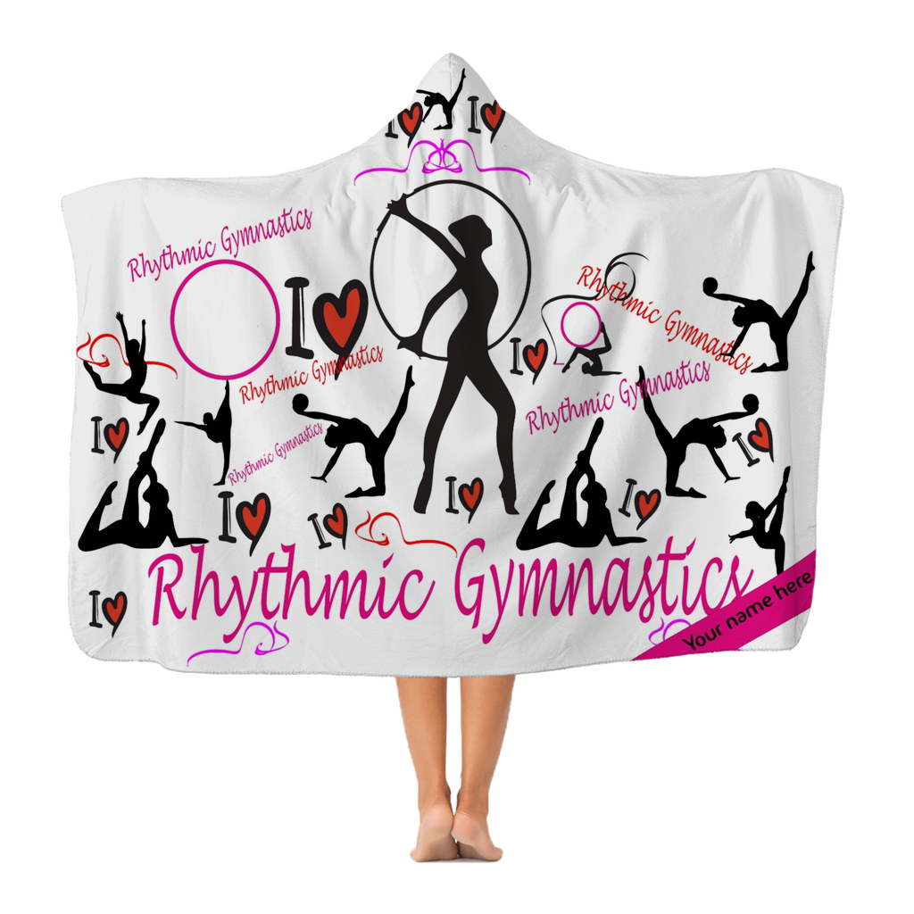 I love Rhytmic Gymnastic